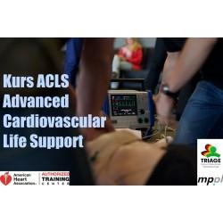 Kurs ACLS certyfikowany przez AHA (0)